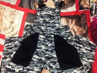 #powerpinay RERICED❗️Plus Size Jumper Pants Camouflaged