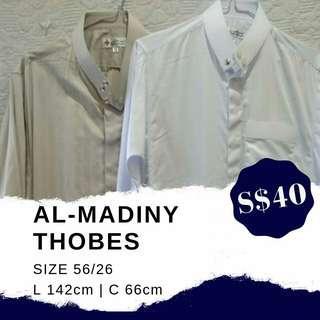 AL-MADINY THOBES SIZE 56/26