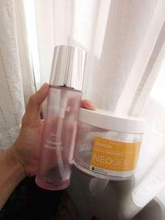 Botol laneige clear c dan pads neogen