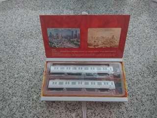地鐵二十週年 地鐵模型(連海綿,未拆過)