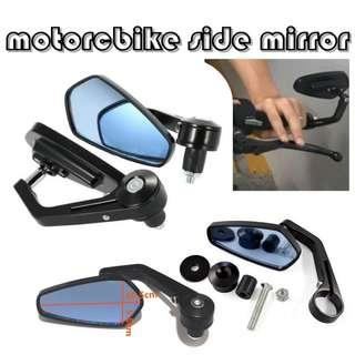 🚚 Side Mirror / Motorcycle mirror / Handlebar Grip end Mirror
