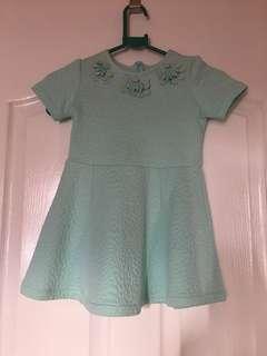 Gingersnaps Aqua dress