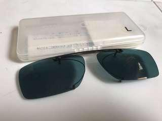 🚚 Anti-UV clip-on lenses in case