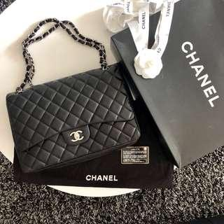 Chanel Classic Flap Bag Lambskin Maxi