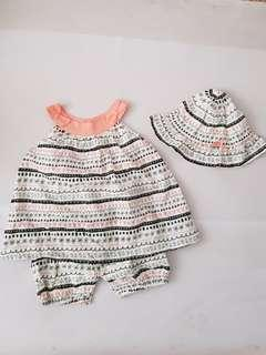 3 to 6months Baby Girl Rompers