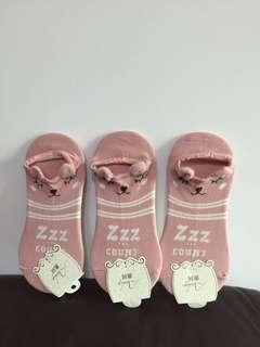 船襪($12/3對,$20/6對)