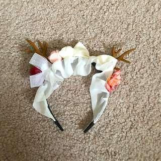 MORI KEI deer antlers headband