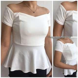 White Pretty Top