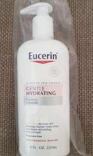 [NEW] Eucerin, Gentle Hydrating Foaming Cleanser