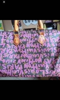 Louis Vuitton Puprle Graffity