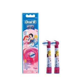 🚚 Brand New Oral B Electric Toothbrush Refill Stages Power Princess