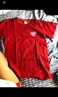 🚚 NYGH red camp shirt