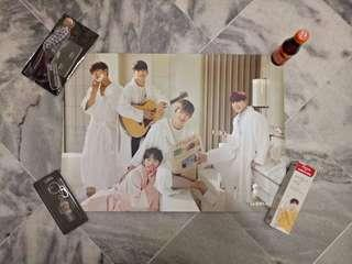Wanna One Group Poster Popup Store
