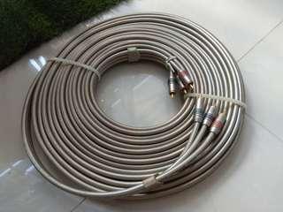Japan RCA, Component Cable (10M)