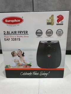 🚚 EUROPACE AIR FRYER EAF3281S (BLACK 2.8L)