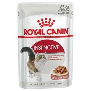 12 pouches Royal Canine Instinctive adult cat ( with gravy)