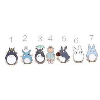 🚚 BNIB Totoro Pin (#5)