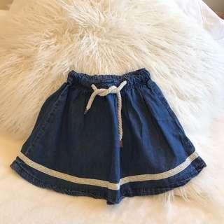 Periwinkle Denim Skirt
