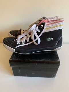 REDUCED Lacoste high tops casual sneakers