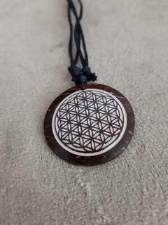 Bring Me The Horizon Coconut Husk Necklace