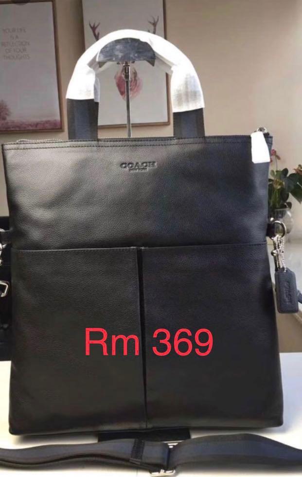 (10/03/19)Authentic Coach men wallet belt sling bag backpack crossbody bag clutch money ready stock listing women