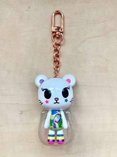Tokidoki Camo Kawaii Palette mascot key chain key charm Tokidoki keychain