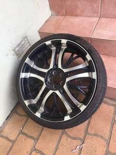 X4 wheels NEGOTIABLE