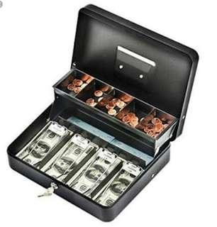 LOOKING FOR: CASH BOX