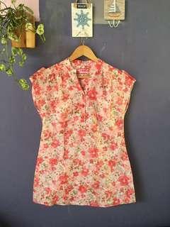 Flower blouse - Hasenda