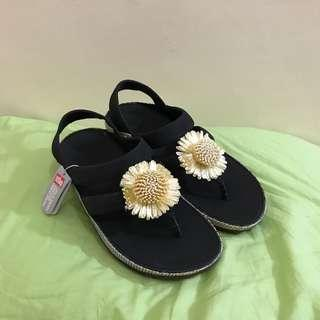 Fitflop Rosita Sandal Black US 7 shoes sandals slippers fitflop