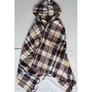 🚚 Classy Wear, Designer Fashion, Couture Poncho, Tartan Colour, Hoody, Hoodie, Japan, Little Red Riding Hood, Warm Scarf, Cold weather, Winter wear, Street Fashion, Rock Star, Characters, Funky, Groovy, Iconic, Pop Culture, Art Décor, Fashionable, Stylish