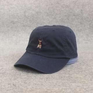 Topi R Athletic Jeans Navy Second Original Murah