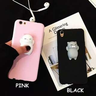 Squishy Cute cat Case for oppo