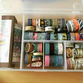 washi tape & stickers grabbag