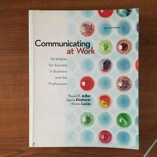 Communication at Work 11th Edition