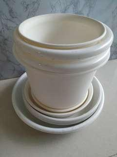 Used various pots for grab!