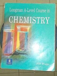 Longman A-Level Course in Chemistry JGR Briggs  Year 2016  ORIGINAL BOOK