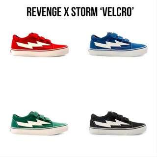 6f747075c8f Revenge x Storm  Velcro  Shoes (Various Size)