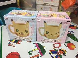日本直送  寵物小精靈  比卡超造型瓷杯