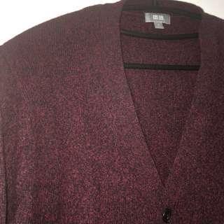 🚚 UNIQLO 羊毛外套 開襟外套 針織外套 罩衫