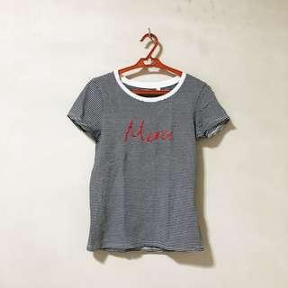 "Cotton On ""Merci"" Tee"