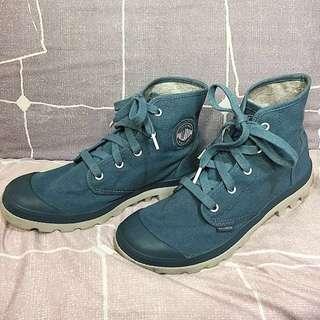 REPRICED!! Palladium Blue Pampa Hi Boots