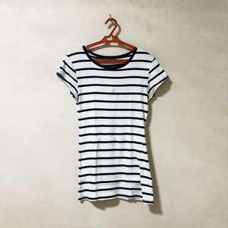 Dorothy Perkins Long Striped Tee