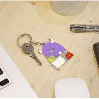 SML特製質感鑰匙圈|SML LIFE (上班work)