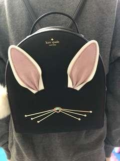🚚 kate Spade兔子後背包