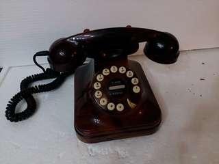 古董電話 仿瑪瑙