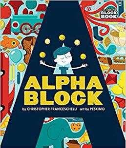 Brand new Alpha block kids book preorder