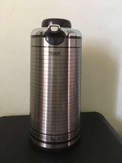 Tiger (new satin) vacuum flask 1.9 litres