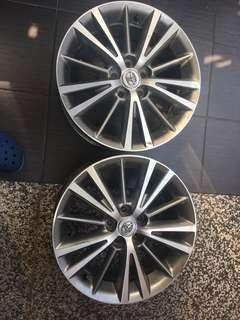 "Toyota Altis 16 "" inch rim ( 2 pieces)"