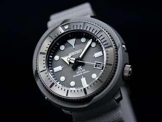 Seiko Solar Street Series Grey Solar Diver SNE537P1 SNE537 With FREE DELIVERY 📦